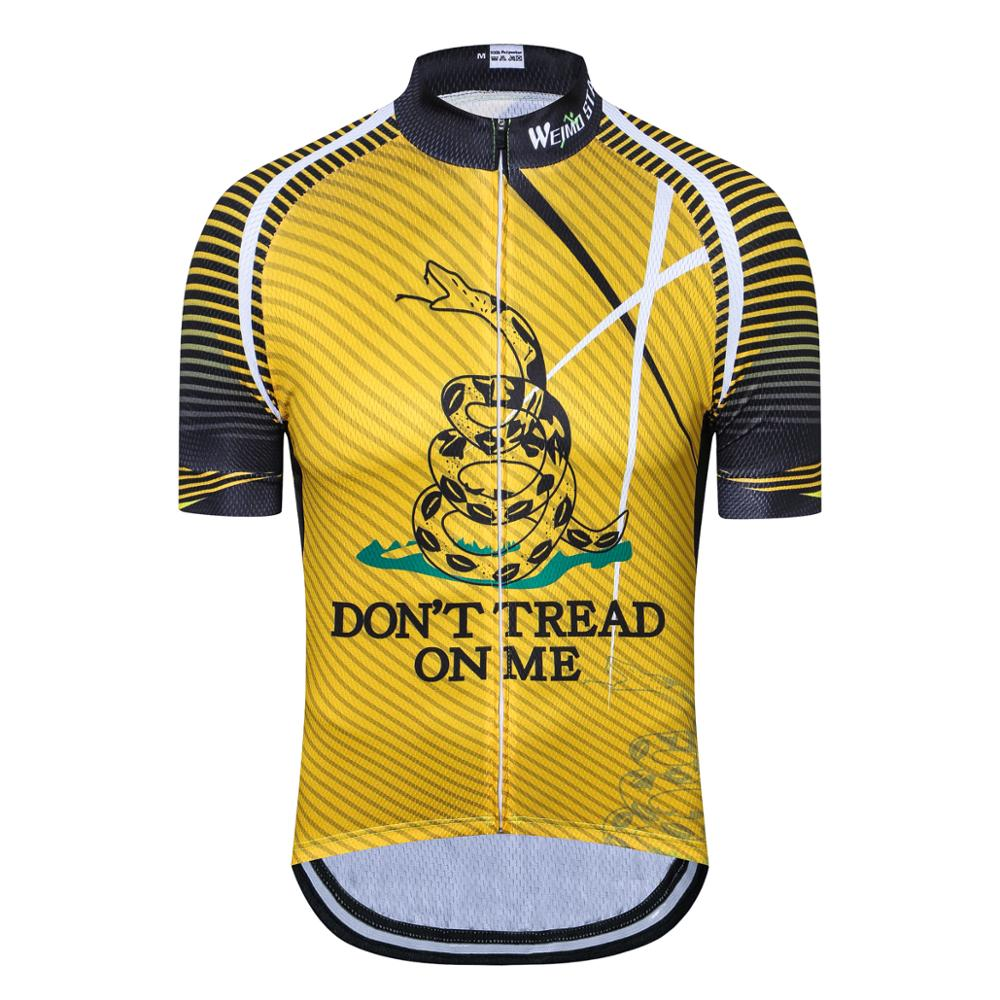 UFOBIKE Cycling Jersey Men Retro Summer 2019 Short Sleeve Mountain Bike Jersey Apparel Mtb Shirt Biking Tops Maillot Ciclismo in Cycling Jerseys from Sports Entertainment