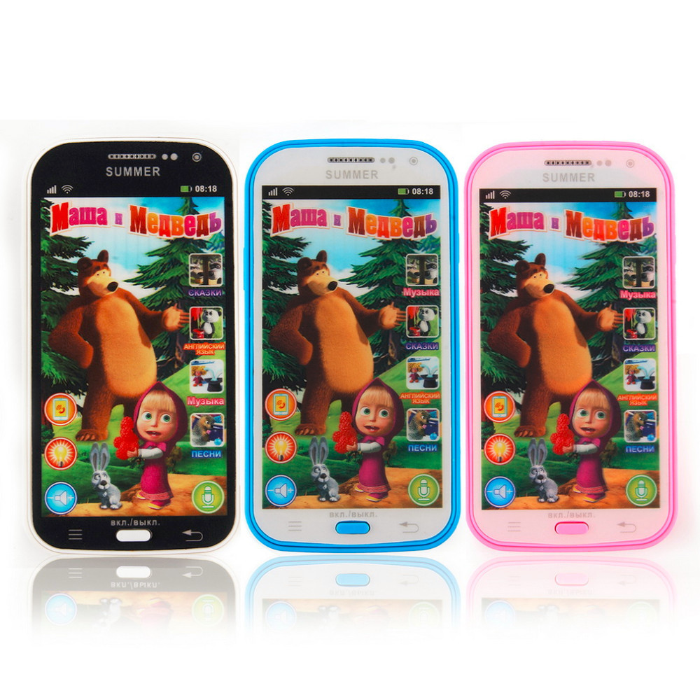 YKS-Russian-Language-Children-Mobile-Toy-Baby-Phone-Toy-Talking-and-Bear-Learning-Machine-education-Electronic-Toy-Free-Shipping-2