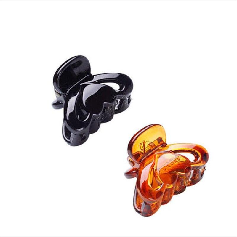 9356 women Hair Clip fashion Hair Claw black Hairpin hair accessories for women simple hair crab clamp 2.7*2cm 12pcs/lot