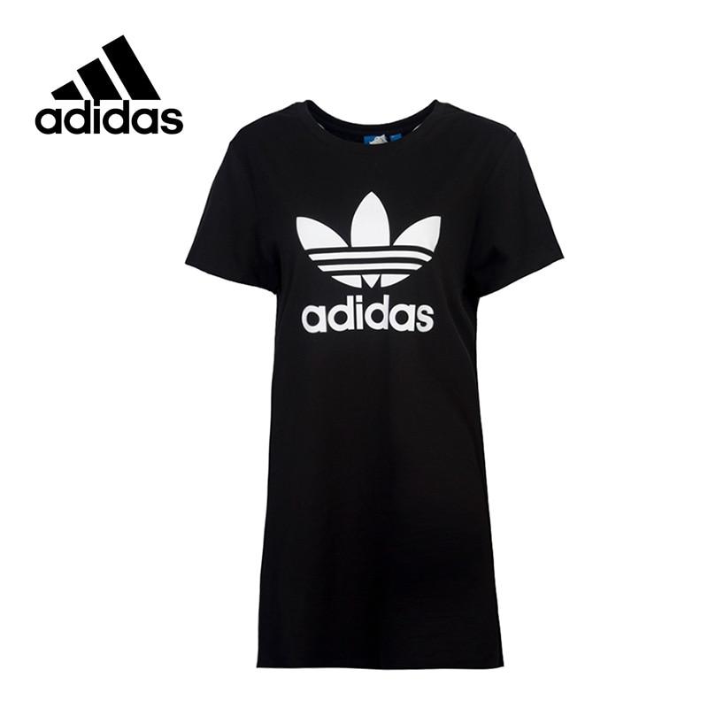 New Arrival 2017 Original Adidas Originals Long Style Women's T-shirts short sleeve Sportswear original new arrival 2017 adidas originals s s camo color men s t shirts short sleeve sportswear