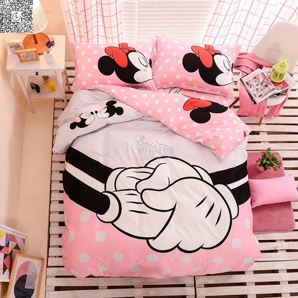 Online Buy Wholesale Minnie Mouse Comforter Set From China