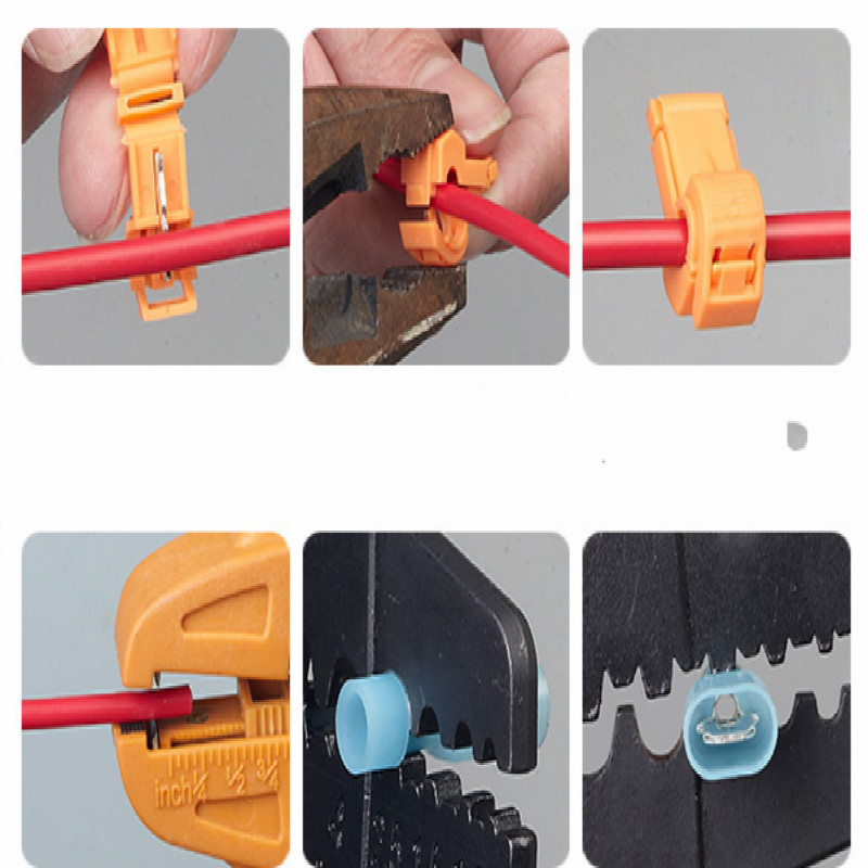 T type wire connector pin header Fast connection fit for 1 4 Square millimeter 50pcs lot FREE SHIPPING in Connectors from Lights Lighting