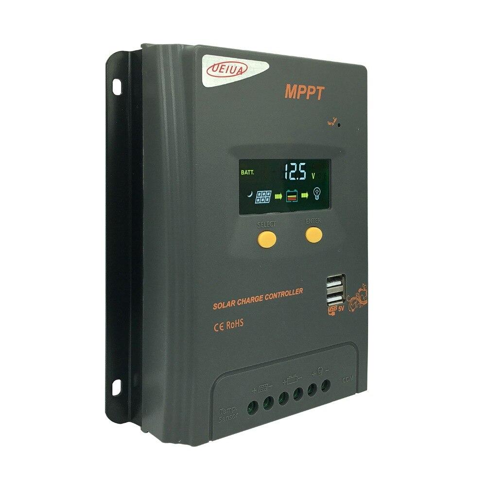 Durable Solar Charge Controller 12V 24V Solar Charge Controller USB 20A Solar Regulator Voltage Regulator джемпер женский sela цвет коралловый jr 114 1089 8111 размер xl 50