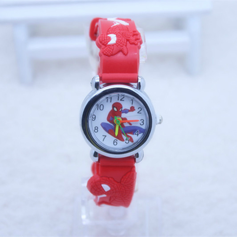 A Variety Of Mixed Silicone Children's Watches Princess Child Watch  Kids Watches For Girl Boy Student Clock Quartz Wristwatches