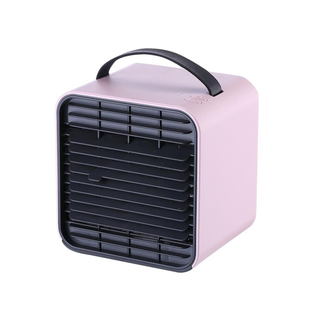 3-Speed Mini Air Conditioner Negative Ion Fan LED Light PM2.5 Portable Home Office Use Cooler Humidifier Dropshipping