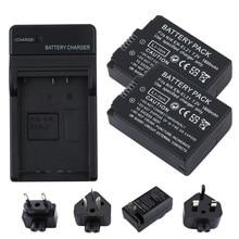 RP Lot 2PCS 7.2V 1800mAh EN-EL21 ENEL-21 ENEL21 EN EL21 Digital Camera Battery For Nikon 1 V2,1V2,SingleMacro Coolpix A J1