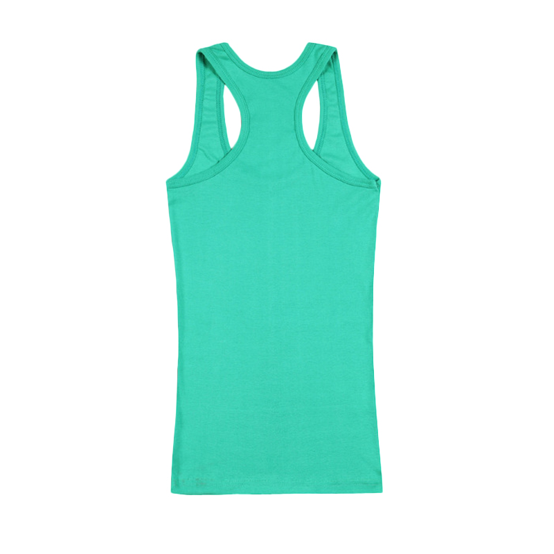 New Fashion Summer Sexy Soft Tank Tops Women Shirts Vest Candy Color Cotton T-Shirts Sleeveless O-Neck Ladies Slim Clothes Femme