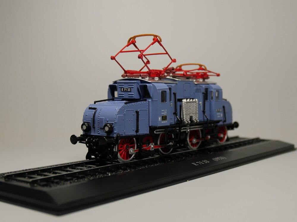Ho scale model Atlas 1:87 Train E 71 33 1921 Diecast model Train