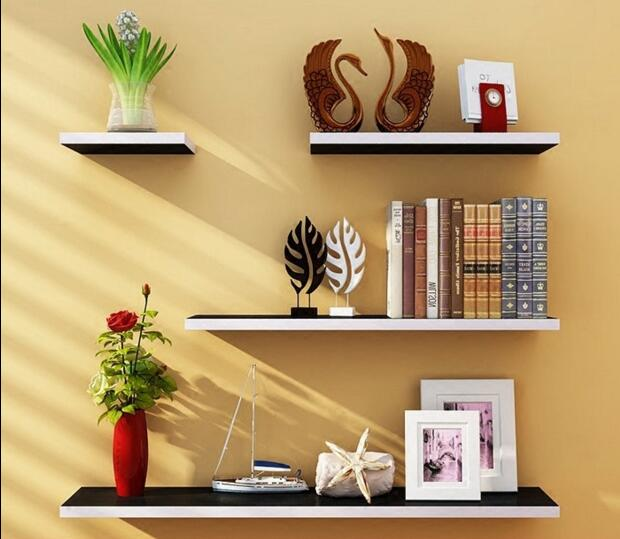 Wall Rack Free Of Hole Creativity Wall Hanging Modern Simple Word