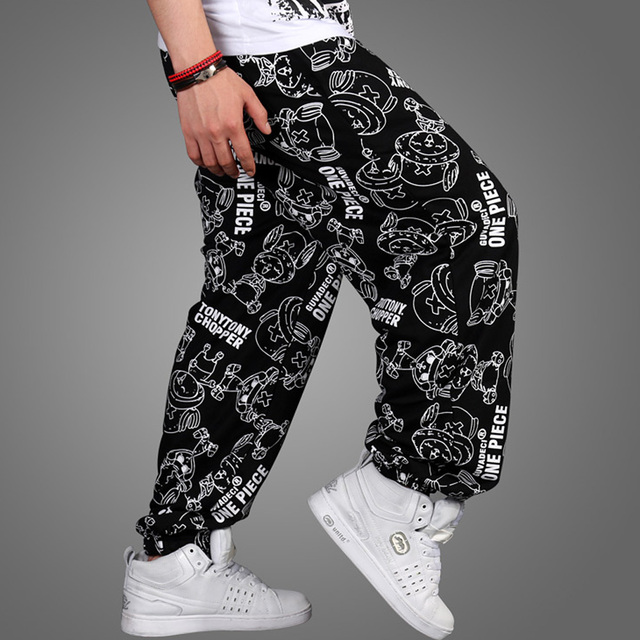 Brand Casual open air male male men Hip Hop Dance Harem Joggers Track Sweatpants Baggy Loose Pants Trousers Plus Size XXXL 03