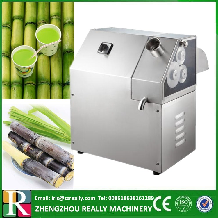 Vertical 3 Rollers Electric Sugarcane Juicer Commercial ...