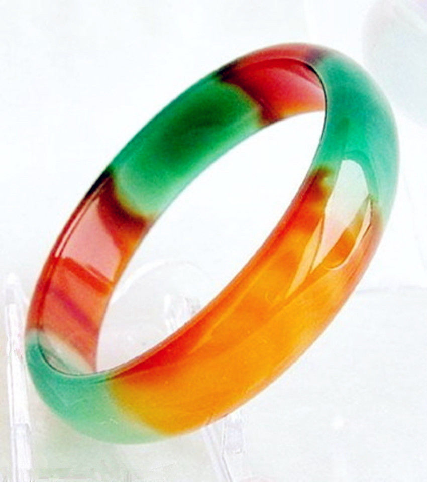 rubber jadeite genuine white bangle in bracelet certified green img glossy jade high bracelets