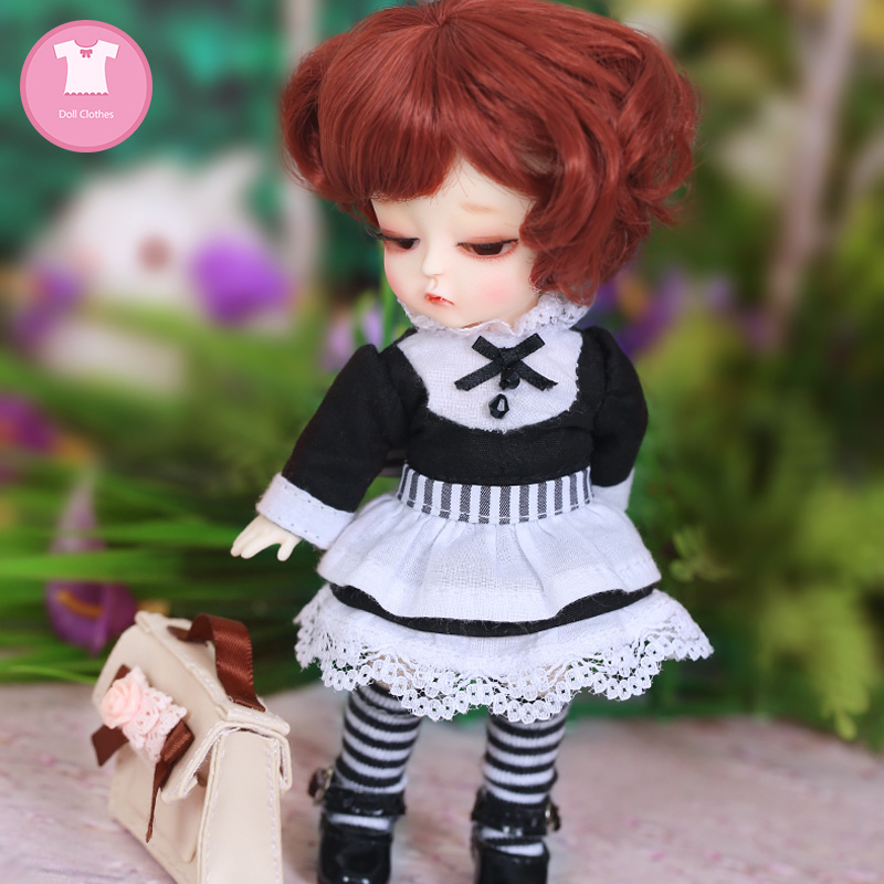 BJD Clothes 1/8 Doll Body Cute Mini Dress Or Suit Beautiful Girl For Lati Yellow Coco Body OUENEIFS Doll Accessories   Luodoll