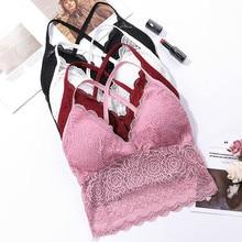 Женский красивый бюстгальтер с подкладкой сзади, кружевной топ-труба, нижнее белье для женщин, сексуальное кружевное белье, интимная одежда, белый топ-труба, Бралетт youngirl