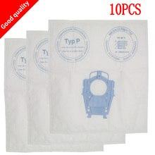 Bsg80000 sacos profissionais para aspirador, saco de poeira para aspirador de pó, tipo p 468264 461707 para higiene, com 10 peças