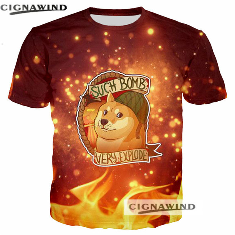 Steli Di Bamb.ツ Discount For Cheap Doge Tee 3d And Get Free Shipping