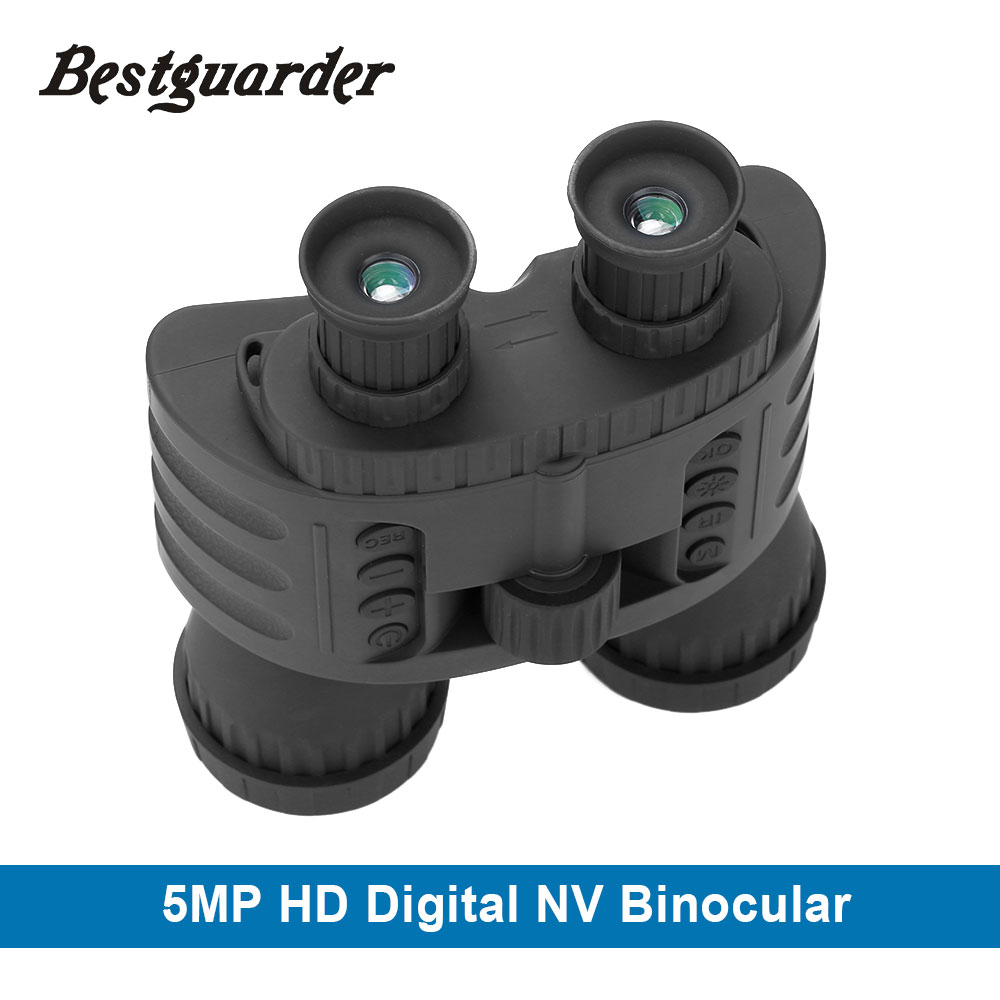 Binoculars Hunting 300M GPS HD 720P IR Vision Night Binoculars Telescope 4X50 Zoom 1.5 Video Photo Recorder Night Riflescope nv400b digital infrared ir night vision large screen binoculars telescope camera video recorder for outdoor sightseeing