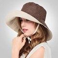 Горошек Обе стороны Прохладный Hat Ladies Beach Шляпы Для Женщин Летом Анти-УФ Солнцезащитный Крем CapS