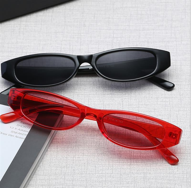 e73cad1f42 Detail Feedback Questions about Vintage Cat Slim Sunglasses Women ...