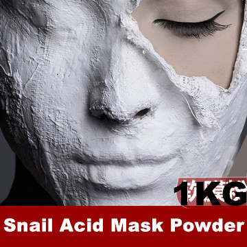 1KG Beauty Salon Equipment Snail Acid Mask Powder Peel Off Masks Anti-Wrinkle Anti Aging Firming Lifting Face Products 1000g spa quality hyaluronic acid soft powder face mask anti aging peel off facial treatment beauty salon equipment 1000g 1kg