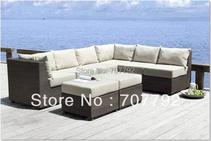 Barei Outdoor Patio Sectional Sofa(China (Mainland))