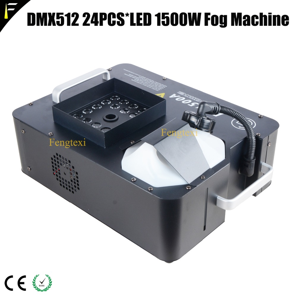 DMX512 24PCS LED 1500W Fog Machine2