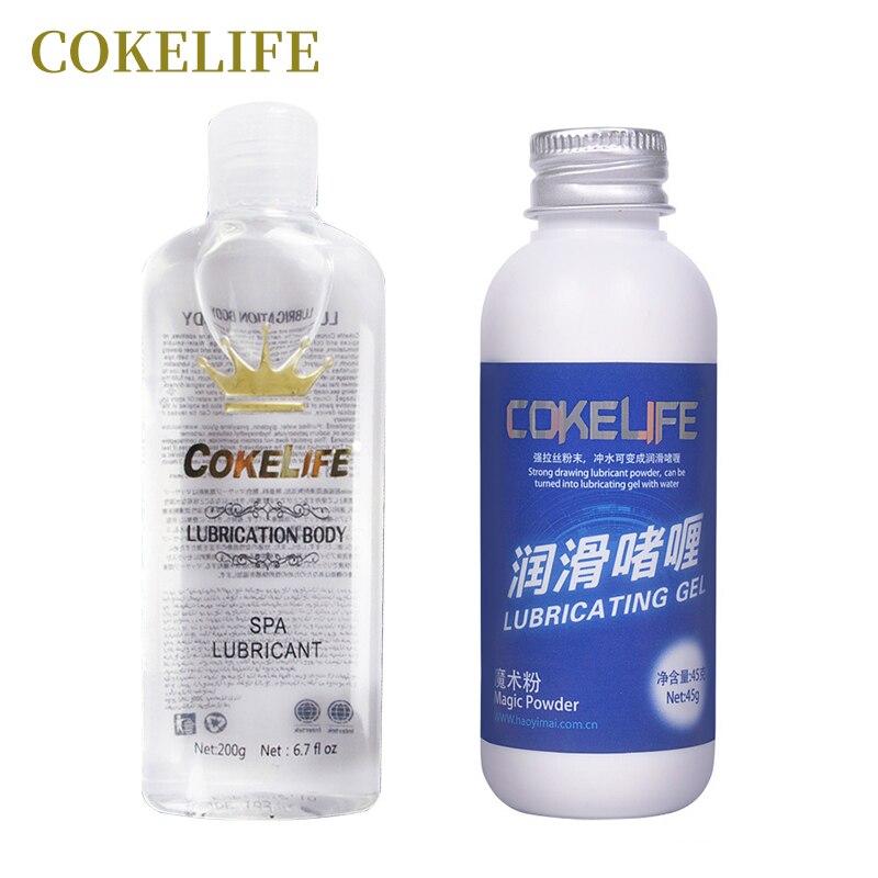 Cokelife Magic Powder Lubricantwater Based Anal Sex -8638