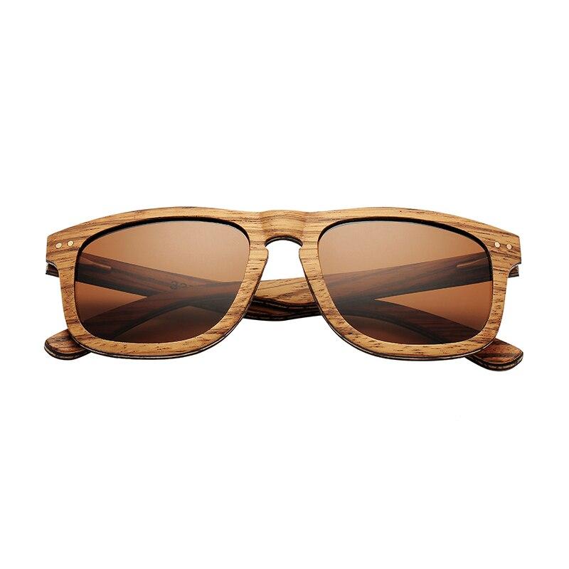 AN SWALLOW Vintage Sunglasses Natural Handmade Laminated Wood Sunglasses Gray Zebra Wood Sunglasses Round Wood Ebony Sun Glasse in Women 39 s Sunglasses from Apparel Accessories