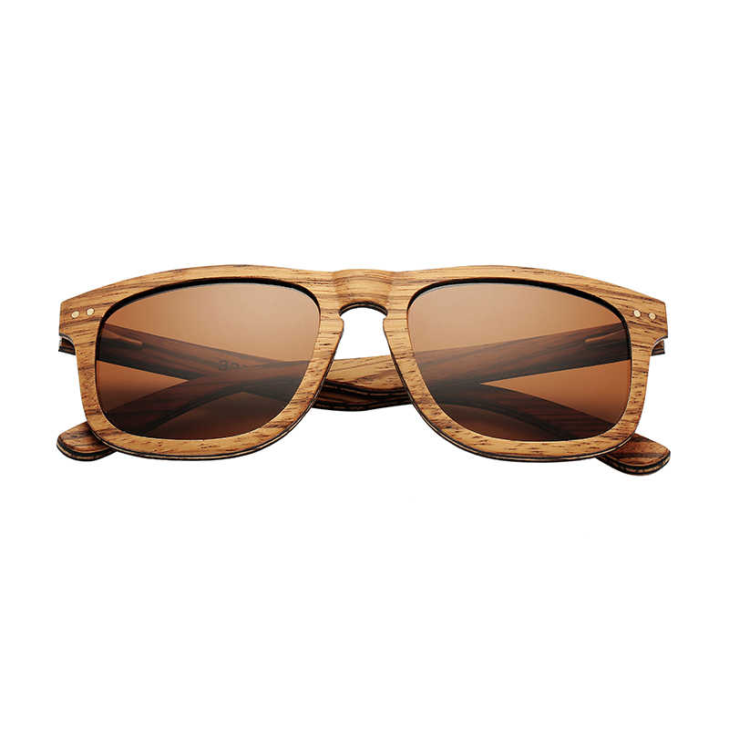 a0efbcdd1 ... AN SWALLOW Vintage Sunglasses Natural Handmade Laminated Wood Sunglasses  Gray Zebra Wood Sunglasses Round Wood Ebony ...