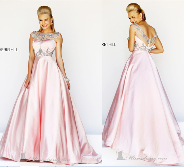 The Brand Prom 2014 Brand Fashion High Neck Long Girl\'s Prom Dresses ...