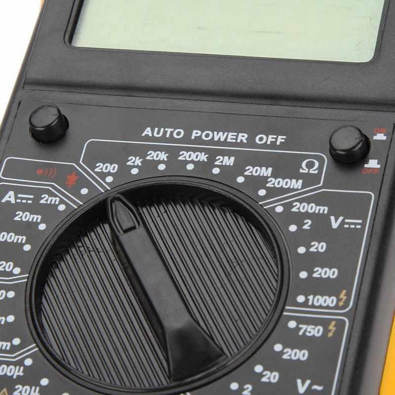 DT9205A Digitale Multimeter Lcd Ac/Dc Amperemeter Weerstand Capaciteit Transistor Tester Diagnose-Tool VEH61