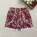 2017 New Fashion Baby Girls Summer Shorts Girl Cotton Gym/Beach Shorts Pom Pom Shorts 30D