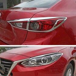 Dla mazdy 3 hatchback Axela 2014-2016 dekoracja świetlna z głowicą tylną