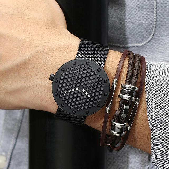 Men's Fashion Unique Wristwatches