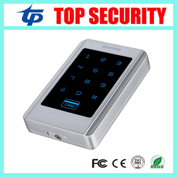 Free shipping 125KHZ smart card access control system touch keypad password door control card reader original access control card reader without keypad smart card reader 125khz rfid card reader door access reader manufacture