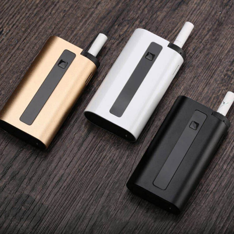 Ring Wall Heating Type 2500mAh Dry Herb Electronic Cigarette Heating Incombustible E-Cigarette Flue-cured Tobacco Deviceb Set temperature and humidity sensor protective shell sht10 protective sleeve sht20 flue cured tobacco high humidity