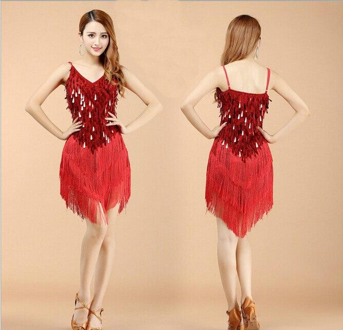 New Arrive Women Latin Dance Dress Women Ballroom Dancing Dresses Latin Dance Costume Dance Latin Dresses Tango Dress