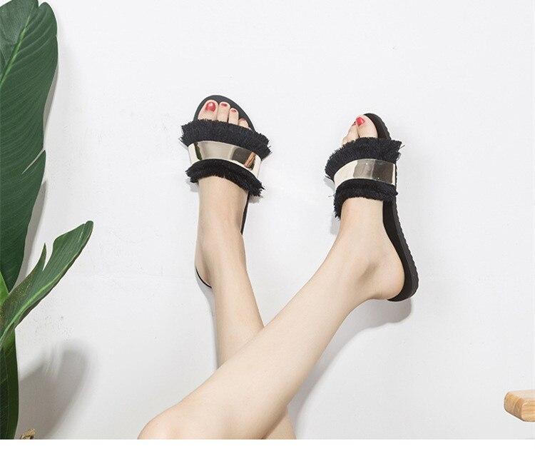 HTB1.eWdHpmWBuNjSspdq6zugXXa2 Women Sandals Slippers Flips Flops 2018 Summer Style Shoes Woman Wedges Sandals Fashion Platform Female Slides Ladies Shoes