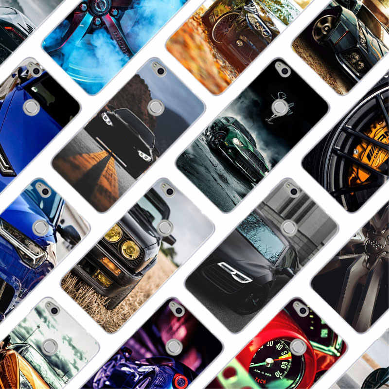 MLLSE Cool sports car Fashion Hard Case Cover for Huawei NOVA 3 3i 4 Honor V20 8X 8A 7A Pro 7X 7C 7i 8 9 10 Lite Play Cover Hot