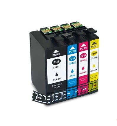 einkshop T349 Compatible Ink Cartridges For Epson T349 T349XL T3491 T3492 T3493 T3494 For WorkForce WF-3721 Printer