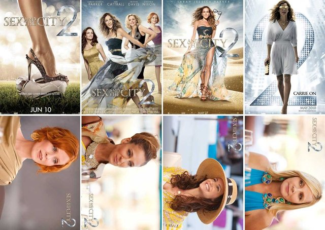 Postcard Movie Sex and the city Sarah Jessica Parker 8P3 15*10.5 cm, Wholesale & Retail