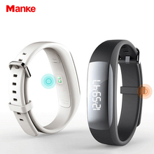 Free Shipping bluetooth 4.0 smart bracelet sport waterproof watch pedometer sleep heart rate monitor for smartphone