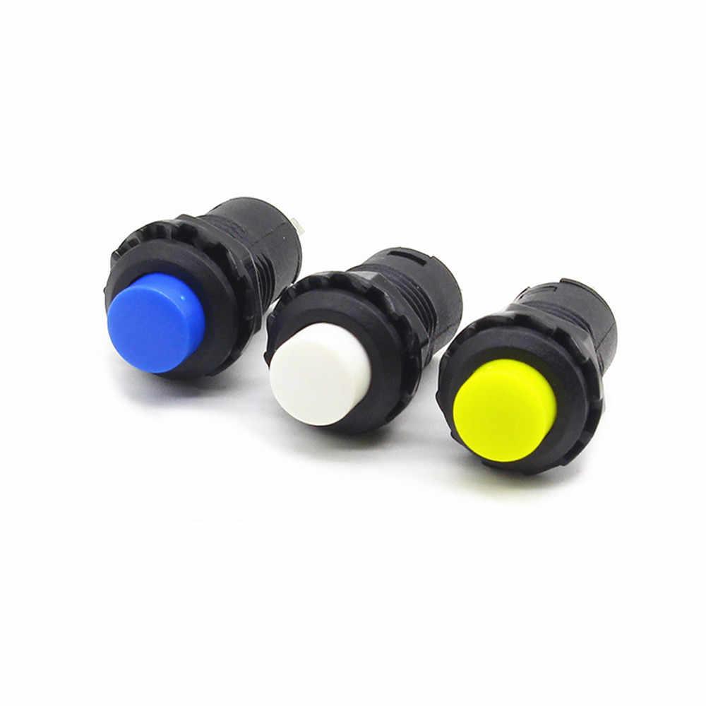 12 ミリメートルロック Off-固定維持押ボタンスイッチセルフロックボタン
