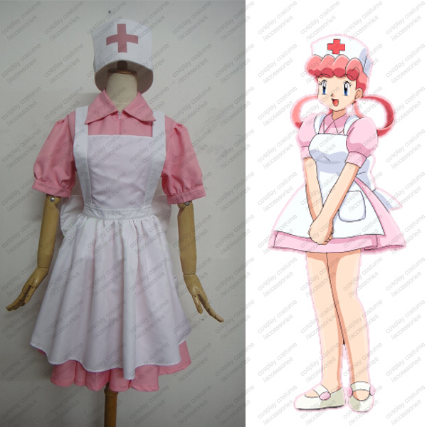 costume cosplay Nurse joy