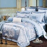 Bamboo Textile Fiber Cotton Satin Drill 4 Times Jacquard Bedding Sheets Bedding Bag Covered 4 Times