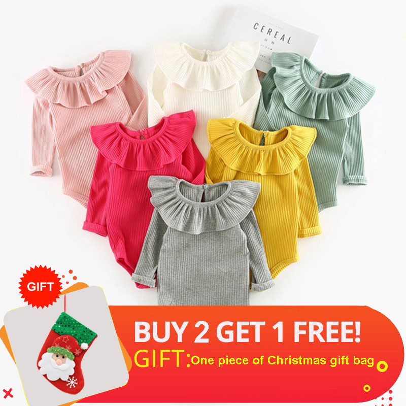Winter Baby Girl Rompers Autumn Princess Newborn Baby Clothes For 0-2Y Girls Boys Long Sleeve Jumpsuit Kids Baby Outfits Clothes 2018 flower baby girls clothing newborn baby girl floral rompers long sleeve jumpsuit playsuit summer baby girls clothes
