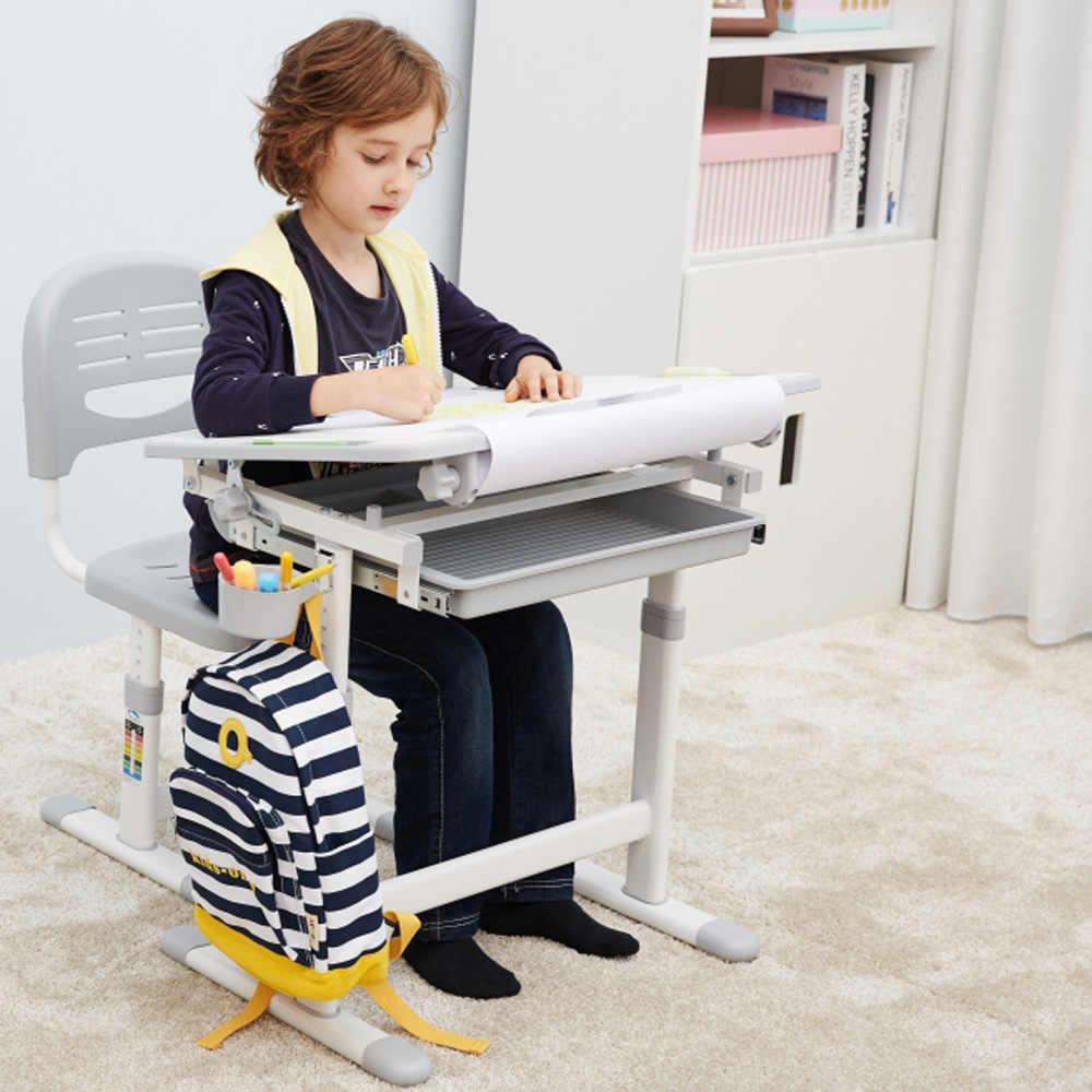 d9911e12cb88 ... inclinable. PRODUCTOS RELACIONADOS. IKayaa altura ajustable chico  estudio Silla de escritorio conjunto inclinable niños actividad arte mesa  de estación