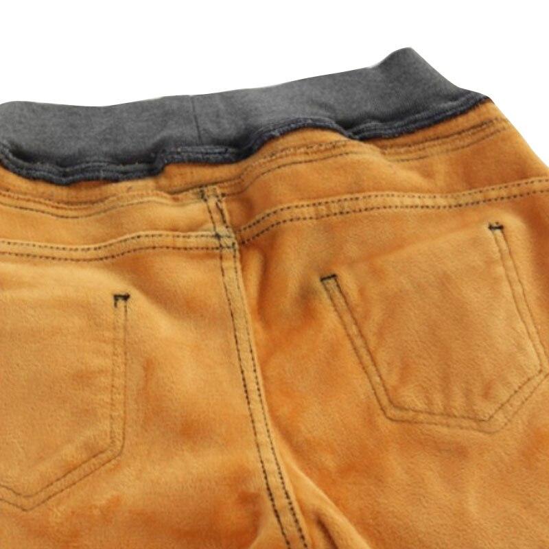 New Fashion Women Pants Plus Size Skinny Mid Waist Warm Thick Down Jeans Pants Women Blue Black Pencil Casual Slim denim Pants anne klein new blue black women s size small s button down back blouse $59