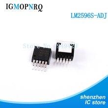 20PCS/Lot LM2596S-ADJ TO-263 LM2596S LM2596 150 kHz 3A Step-Down Voltage Regulator New Wholesale