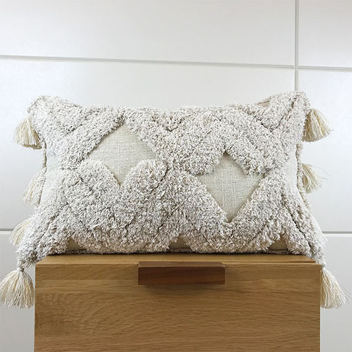 Handmade Cushion Cover Tufted Plush Mawgie